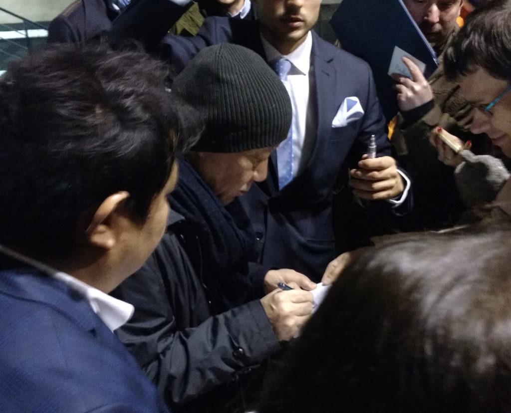 Hisaishi signing