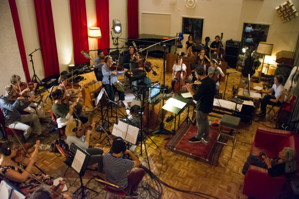 Recording of Wild - Matthijs Kieboom conducting the strings