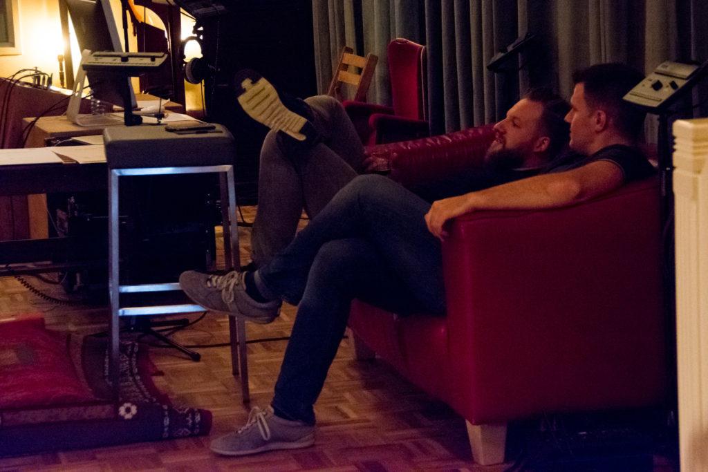 Recording of Wild - Matthijs Kieboom and Thomas Bryła having a small get-together