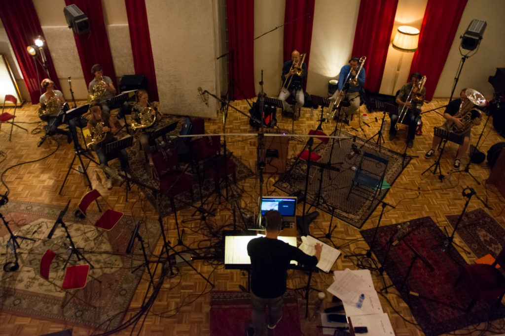 Recording of Wild - Matthijs Kieboom conducting the brass